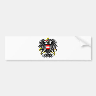 Austria coat of arms bumper sticker