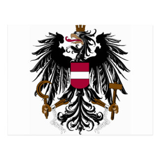 Austria Coat Of Arms Post Card