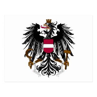 Austria Coat Of Arms Postcard
