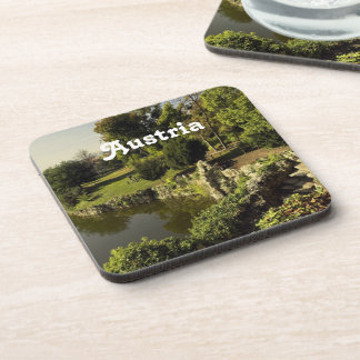 Austria Countryside Beverage Coaster