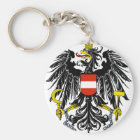 austria emblem key ring