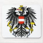 austria emblem mousepads