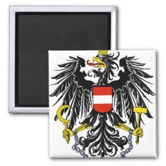 austria emblem square magnet
