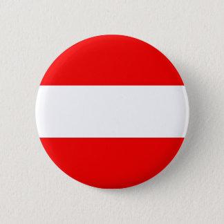 Austria Flag 6 Cm Round Badge