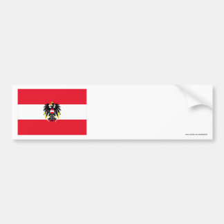 Austria Flag Bumper Sticker