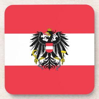 Austria Flag Coaster