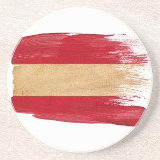 Austria Flag Coasters