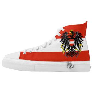 Austria Flag High Tops