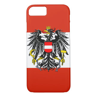 Austria Flag iPhone 7 Case