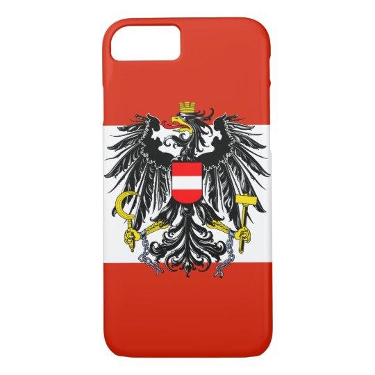 Austria Flag iPhone 7 Case