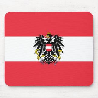 Austria Flag Mouse Mat