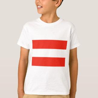 Austria - Flag / Österreich - Flagge T-Shirt