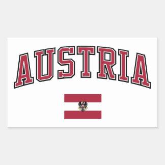 Austria + Flag Sticker