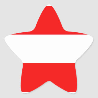 Austria Flag Star Stickers