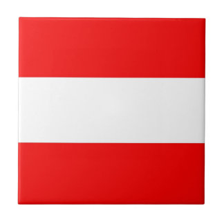 Austria Flag Tile