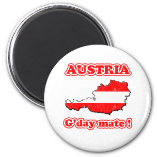 Austria - G'day mate ! Magnet