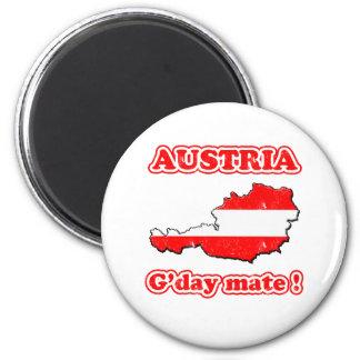 Austria - G'day mate ! Magnet