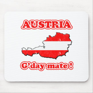 Austria - G'day mate ! Mouse Pad