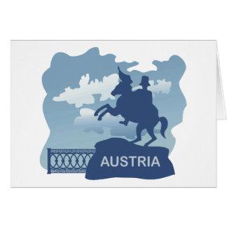 Austria Greeting Card