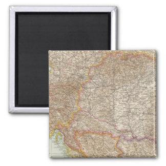 Austria Hungarian Empire Map Magnet
