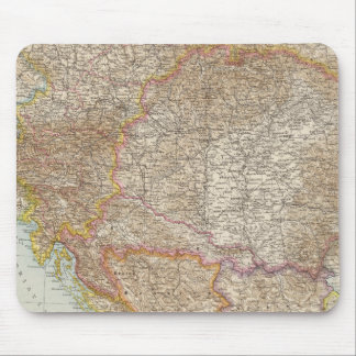 Austria Hungarian Empire Map Mouse Mat