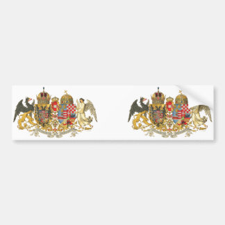 Austria-Hungary (1915-18) - Coat Of Arms Bumper Sticker