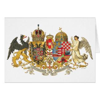 Austria-Hungary (1915-18) - Coat Of Arms Card