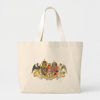 Austria-Hungary (1915-18) - Coat Of Arms Large Tote Bag