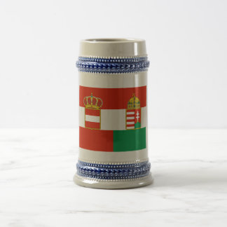 Austria-Hungary Flag (1869-1918) Beer Stein