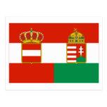 Austria-Hungary Flag (1869-1918) Post Card