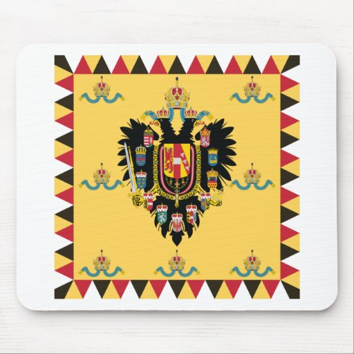 Austria Hungary Imperial Standard 1894-1915 Mouse Pad