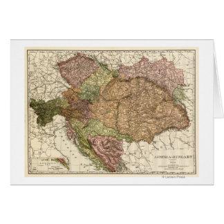 Austria-HungaryPanoramic MapAustria-Hungary Card