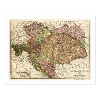 Austria-HungaryPanoramic MapAustria-Hungary Postcard