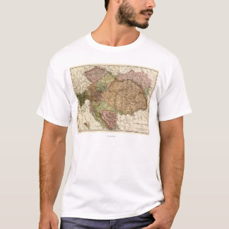 Austria-HungaryPanoramic MapAustria-Hungary T-Shirt