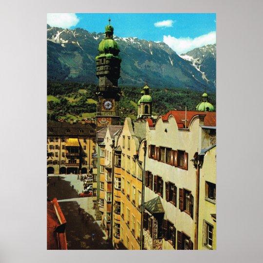Austria, Innsbruck, Tyrol, Golden roof , old city