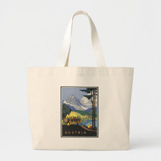 Austria Large Tote Bag