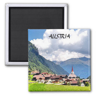 AUSTRIA SQUARE MAGNET