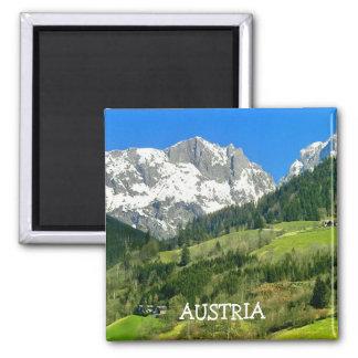 AUSTRIA, SQUARE MAGNET