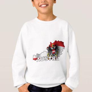 Austria Map Sweatshirt