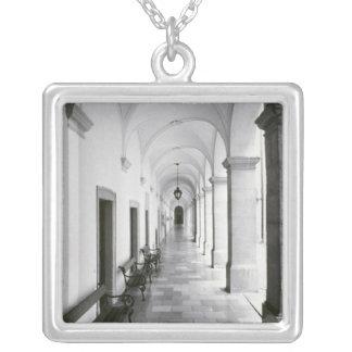 Austria, Melk. Melk Abbey, Austria's Best Silver Plated Necklace