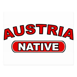 Austria Native Post Cards