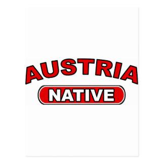 Austria Native Postcard