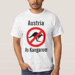 Austria no kangaroos shirt