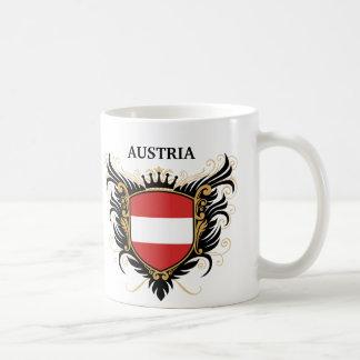 Austria [personalise] basic white mug