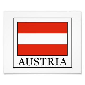 Austria Photo Print