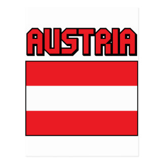 Austria Post Card