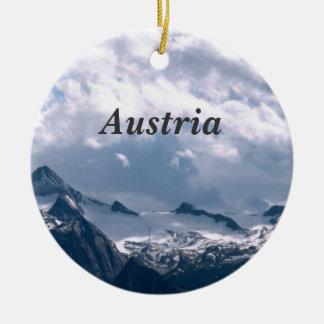 Austria Round Ceramic Decoration