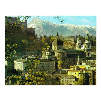 Austria, Salzburg, Hofburg, Hofkirche Postcard