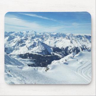 austria ski mountain travel alps snow landscape mouse pad