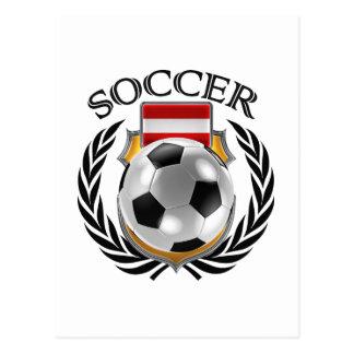 Austria Soccer 2016 Fan Gear Postcard